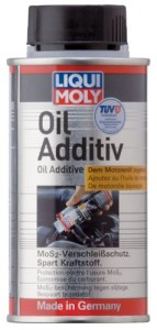 dodatek oil additiv liqui moly z dwusiarczkiem molibdenu MoS2