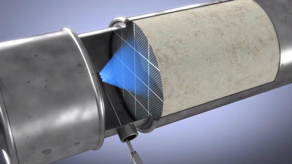 czyszczenie filtra cząstek stałych dpf