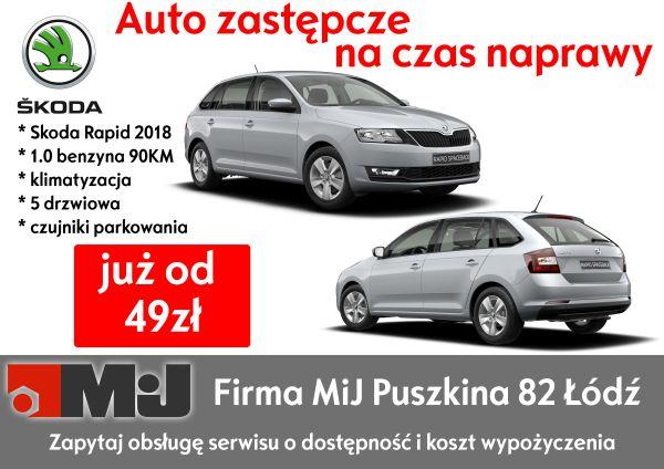 auto zastępcze - firma MiJ