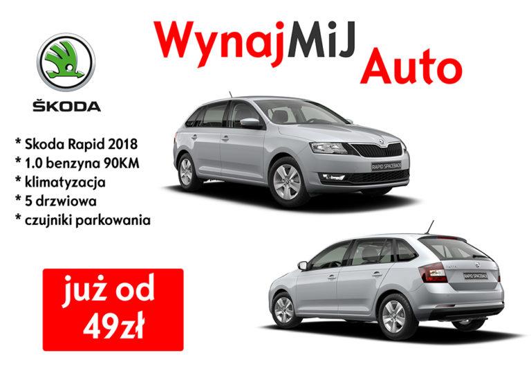 Wynajem samochodów - firma MiJ - Łódź
